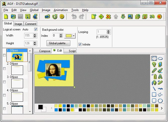 Graphic programs for creation 2d and 3d gif animations and powerful intelligible compact and affordable gif maker for creating and optimization animated gif negle Image collections